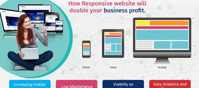 responsive website design in india