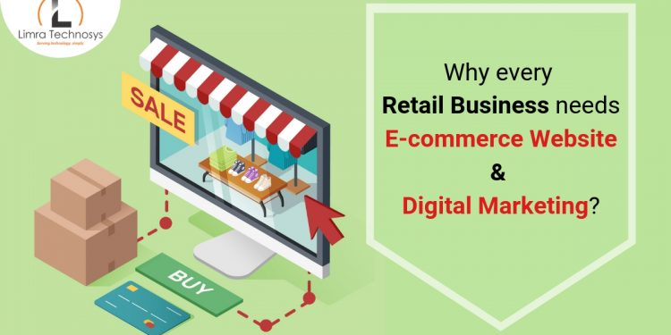Retail business needs E-commerce website